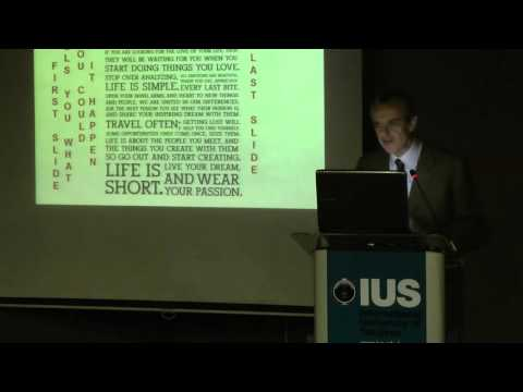 Dr. Alberto Brugnoni - Innovation and Entrepreneurship : an Islamic Perspective""