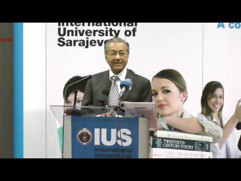 H.E. Tun Dr. Mahatir Muhamed - In recognition of a lifetime of achievements